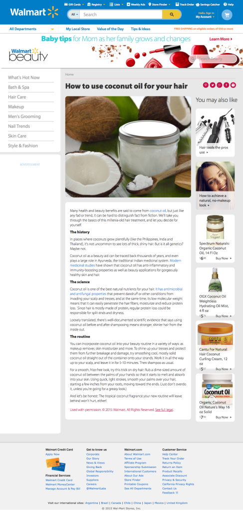 science of coconut oil